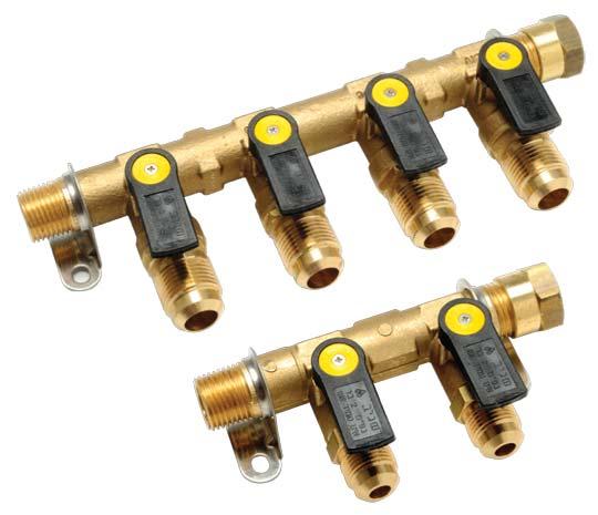 Gas ball valves manifolds sagiv